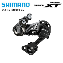 SHIMANO DEORE XT DI2 M8050 Rear Derailleur Middle Cage Shadow RD 11Speed For MTB Mountain Bike Bicyle Electronic Rear Dial