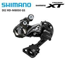 SHIMANO DEORE XT DI2 M8050 przerzutka tylna środkowa klatka cień RD 11 prędkość dla MTB Mountain Bike Bicyle elektroniczna tylna tarcza