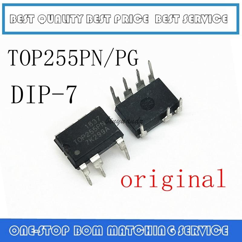 20PCS/LOT TOP255PN TOP255PG TOP255P TOP255 DIP-7 NEW Best Quality