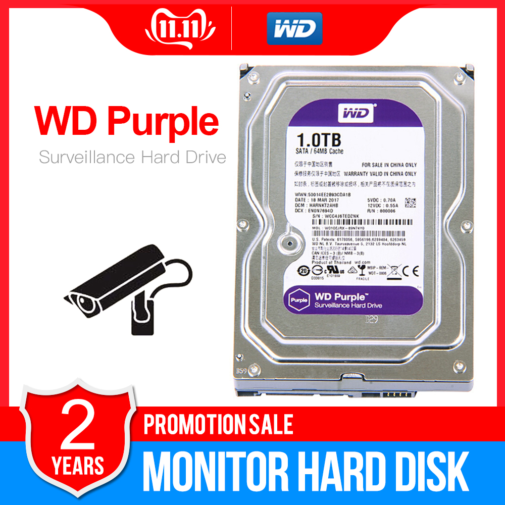 WD Purple 1 to 3.5