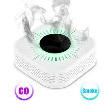 Детектор дыма rf 433 МГц датчик окиси углерода пожара безопасность