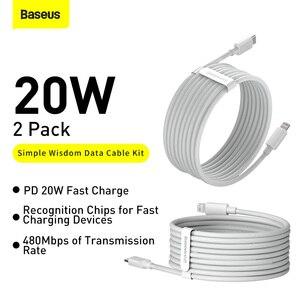 Baseus USB Type C PD 20 Вт кабель для iPhone SE 11 Pro X XS 8 быстрый USB C кабель для iPhone зарядный кабель USB Type C кабель провода код