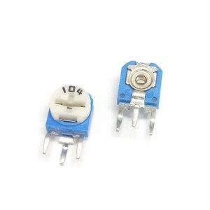 20pcs/lot RM063 RM-063 100 200 500 1K 2K 5K 10K 20K 50K 100K 200K 500K 1M ohm Trimpot Trimmer Potentiometer variable resistor