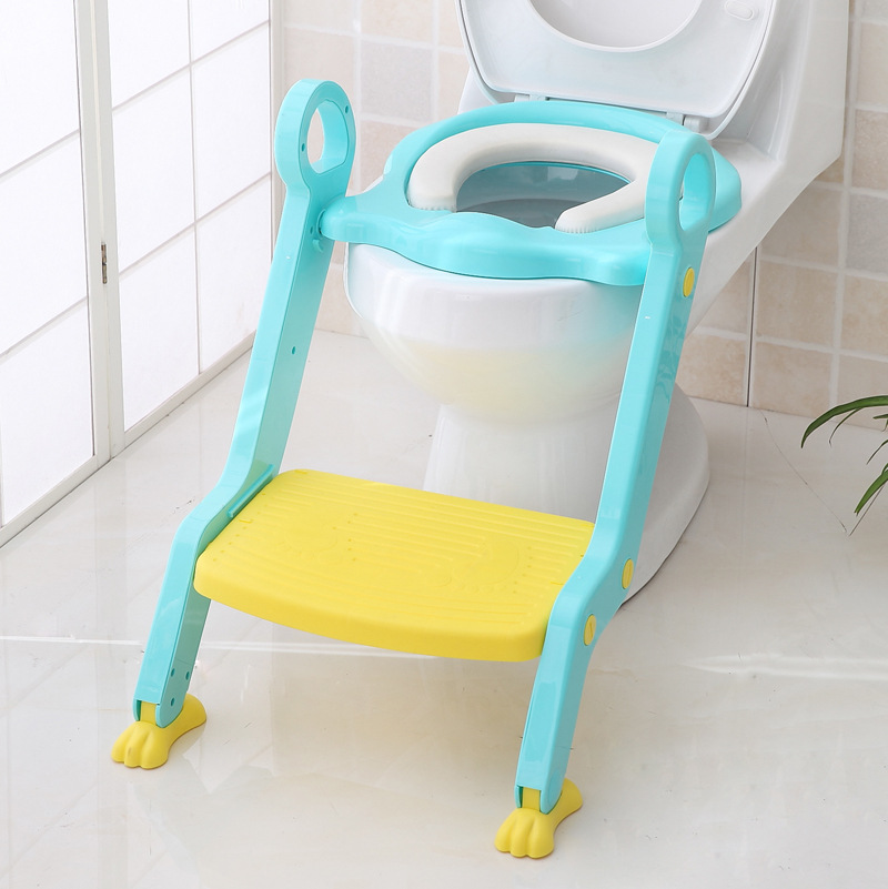 New Style Bathroom Children Baby Portable Closestool Infants Ladder Pedestal Pan Maternal And Child Supplies Ware