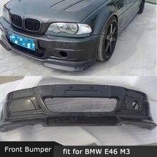 Карбоновый передний бампер для BMW 3 серии E46 M3 головной бампер Hugger автомобильный Стайлинг