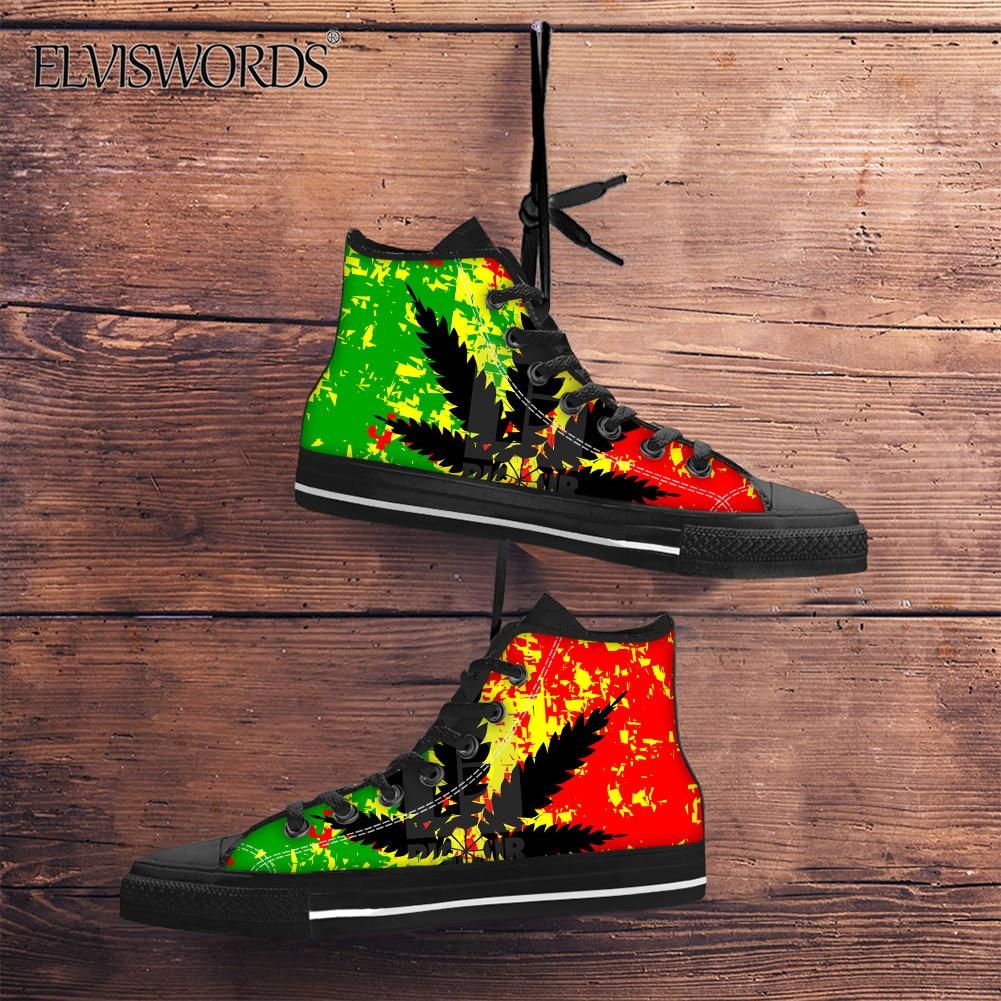 Canvas Low Top Sneaker Casual Skate Shoe Mens Womens Saint Lucia Flag