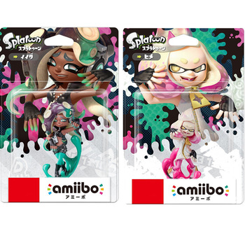 Amiibo Splatoon2 Figures Inkling Boy Girl Squid Pearl Marina For NS