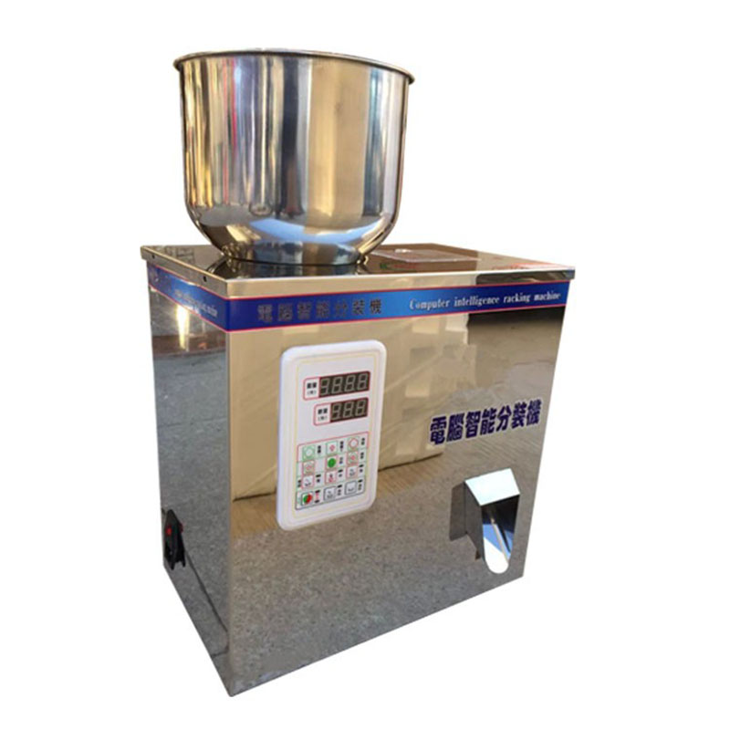 Ny type 2-100g tepakningsmaskin, fyllmaskin for kaffebønner