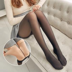 Winter Women Tights Hosiery Collant Black Pantyhose Medias Nylon Tights Women Keep Warm Female Pantyhose Long Stockings