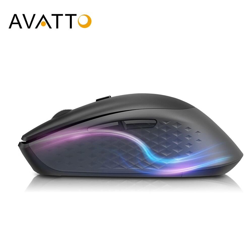 AVATTO H200 высокотехнологичная беспроводная мышь с поперечным компьютерным управлением, более быстрая функция прокрутки, 2400 точек/дюйм мыши для окон, Mac os|Мыши|   | АлиЭкспресс