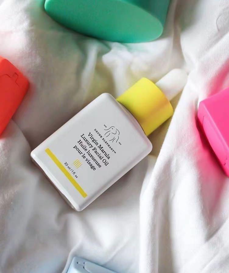 Drunk Elephant Virgin Marula Luxury Facial Oil - Vegan Anti-Aging Skin Care and Face Moisturizer primer 4