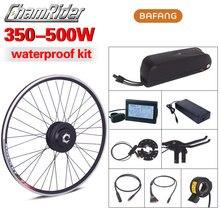 BAFANG Kit de conversión de bicicleta eléctrica, enchufe de conector a prueba de agua, 500W, 36V, 48V, 52V, SWX02, Motor 8fun, batería de botella Super RM G020.350/500.D