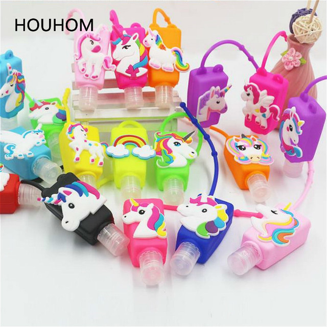 Flamingo Unicorn Party Hand Sanitizer Bottle Set Mermaid Party Baby Shower Birthday Party Decorations Kids Jungle Party Favors