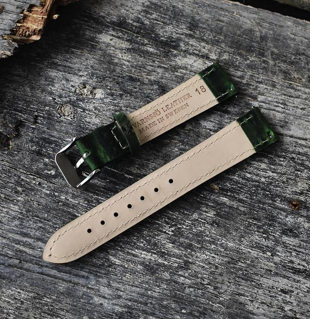 High Quality Watch Band Straps Leather Watch Band Watch Accessories Wist Bracelet Stainless Steel Buckle 18mm 20mm 22mm