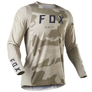 Image 4 - 2020 Mens Downhill Jerseys hpit fox Mountain Bike MTB Shirts Offroad DH Motorcycle Jersey Motocross Sportwear Clothing FXR bike