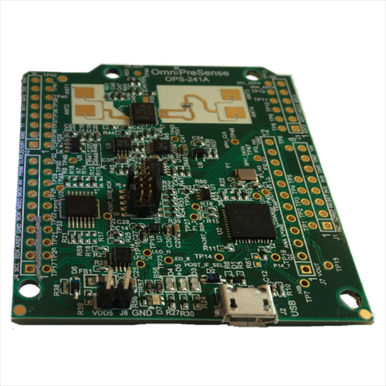 Free Shipping For OmniPreSense Doppler Short-range Speed Radar OPS241-BFMCW Arduino Compatible