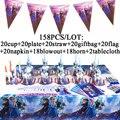 Elsa Anna Gefrorene 2 Party Dekoration Liefert Einweg Geschirr Glücklich Geburtstag Set Für Mädchen Prinzessin Partei Tassen Platten Banner