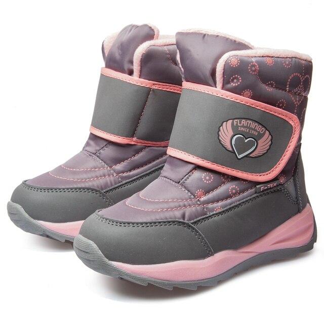 Ботинки Фламинго 92m-qk-1625 ботинки для девочек обувь для детей  27-32#