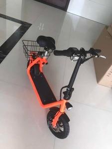 Image 4 - דואר קטנוע 36V350W אחורי מנוע גלגל Brushless רכזת מנוע אופניים אופניים חשמלי אופני ערכת 500W 12 גלגל קדמי מנוע Citycoco