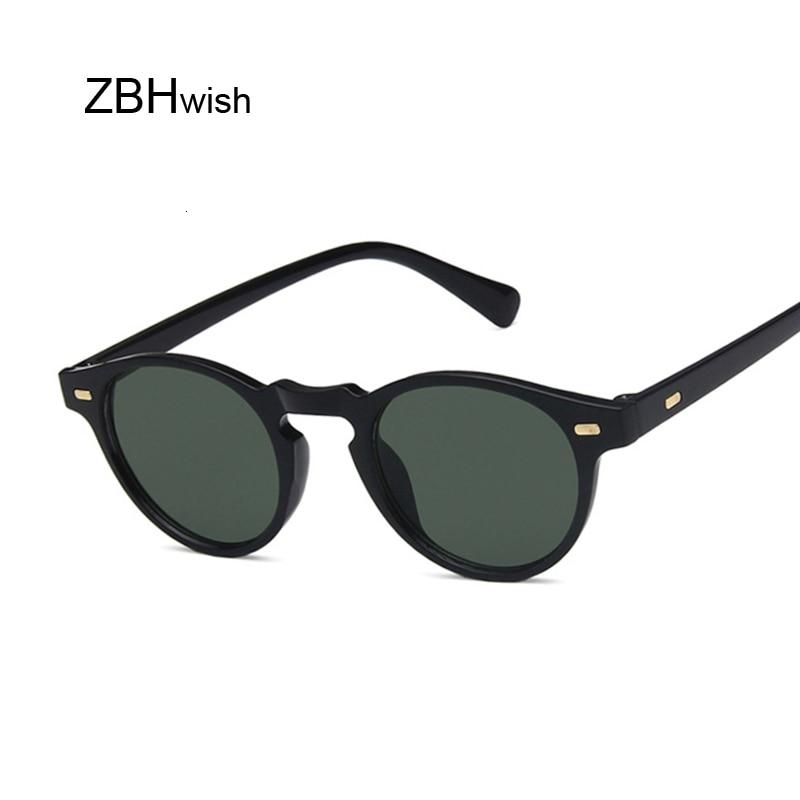Brand Round Sunglasses Women Unisex Retro Vintage Design Small Sun Glasses For Female Driving Sunglass Ladies Shades