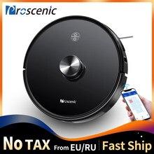 Proscenic M7 Pro 2700pa навигации лазера робот пылесос с влажной уборкой моющий пылесос для чистки ковров для дома