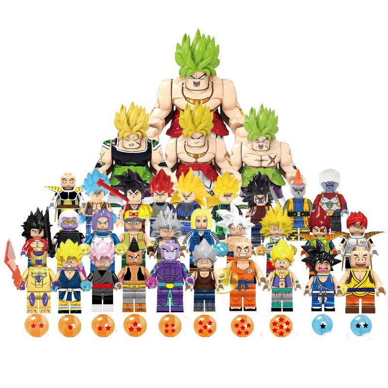 Dragon Ball Anime Z Goku Fighters Super Saiyan Prince Vegeta Manga Trunks Son Gokou Gohan Action Figures Model Collection Toys