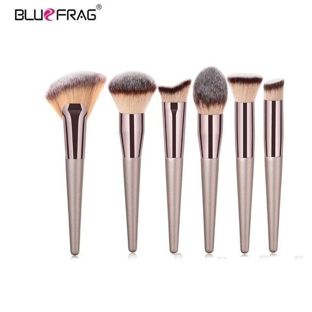 BLUEFRAG Makeup Brushes Tool Set Of Make Up Brushes 6-19Pcs Powder Eye Shadow Foundation Blush Blending Beauty Brush Maquiagem 4