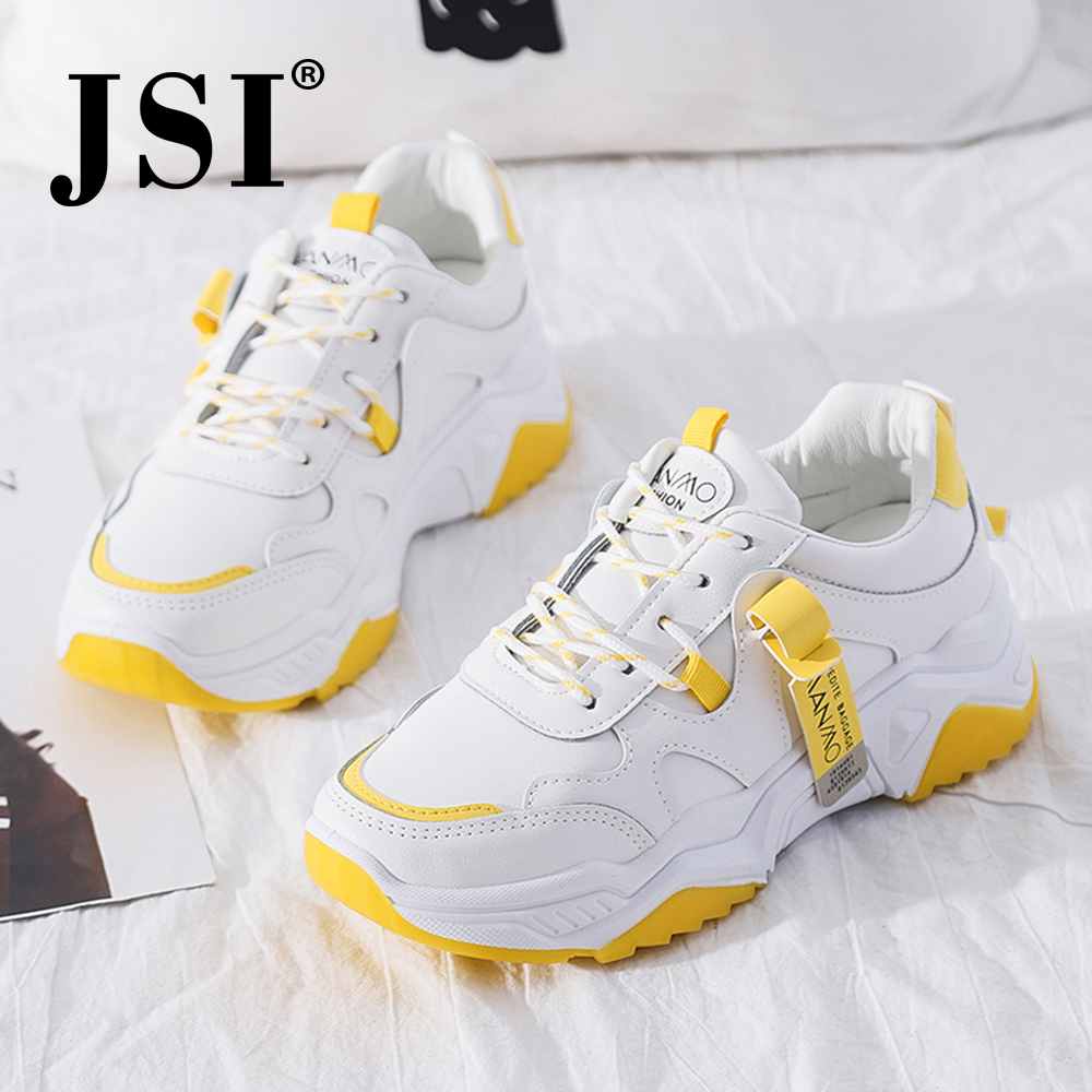 JSI Comfortable Women' S Flats Letter Print Mixed Colors Cross-Tied Lace-Up Breathable Fashion Shoes New Anti-Slip Sneakers JY23