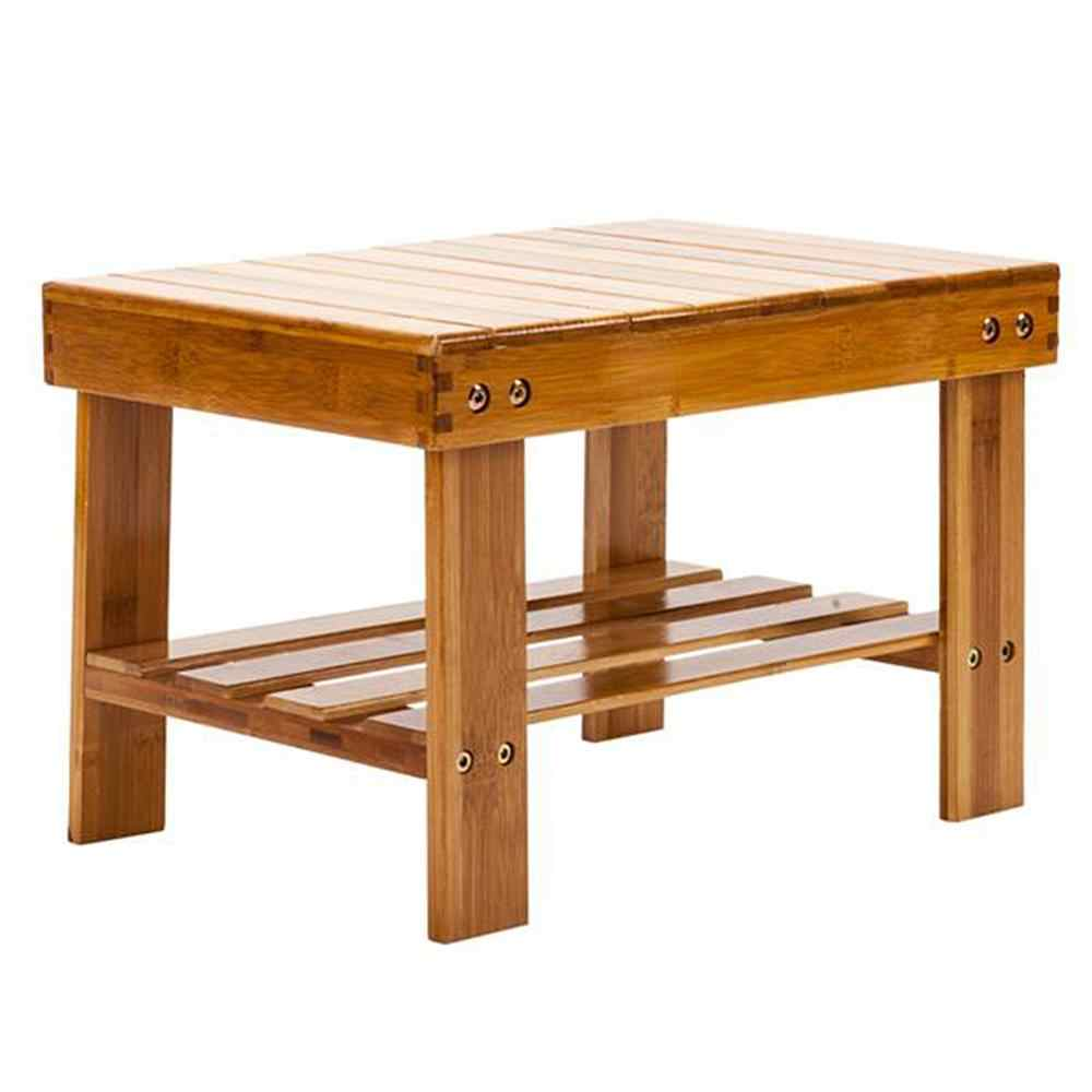 Groovy Children Bench Stool Bamboo Wood Color 12 Cm Light Weight Gmtry Best Dining Table And Chair Ideas Images Gmtryco