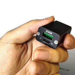 Image 2 - Cargador USB de carga rápida para coche, superllamativas, 100W, CC + PD a protocolo completo pd + Puerto VOOC QC4 PD3 para notebook DC POWER