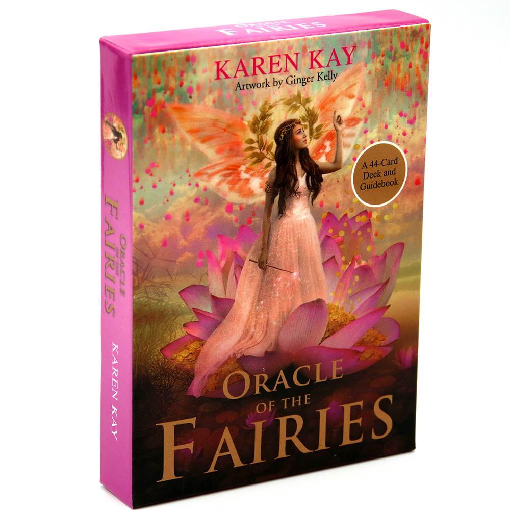 The Oracle Of The Fairies A 44-Card Deck And Guidebook Karen Kay Game Fay Toy Fairy Tarot Realm Of Magic And Manifest Wonders