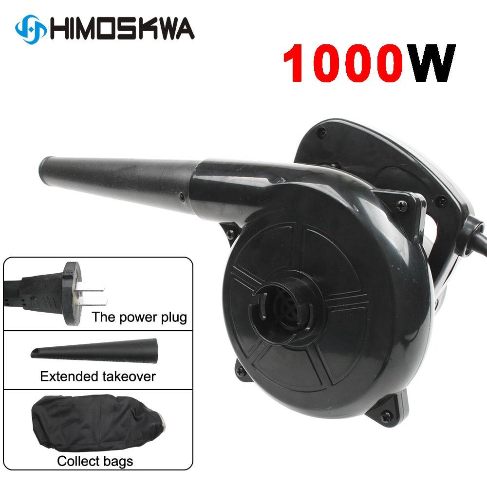 Aletler'ten Körükler'de 1000W 220V elektrikli el toz toplayıcı bilgisayar için saç kurutma makinesi  ev toz toplayıcı  yüksek güç üfleyici toz üfleme aracı title=
