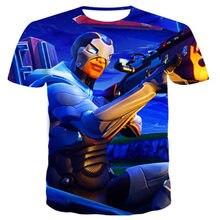 2021 New T Shirt Battle Royale Gaming Men Women T-Shirt Cartoon Cute Summer Tee Short Sleeve 3D print Children Tshirts
