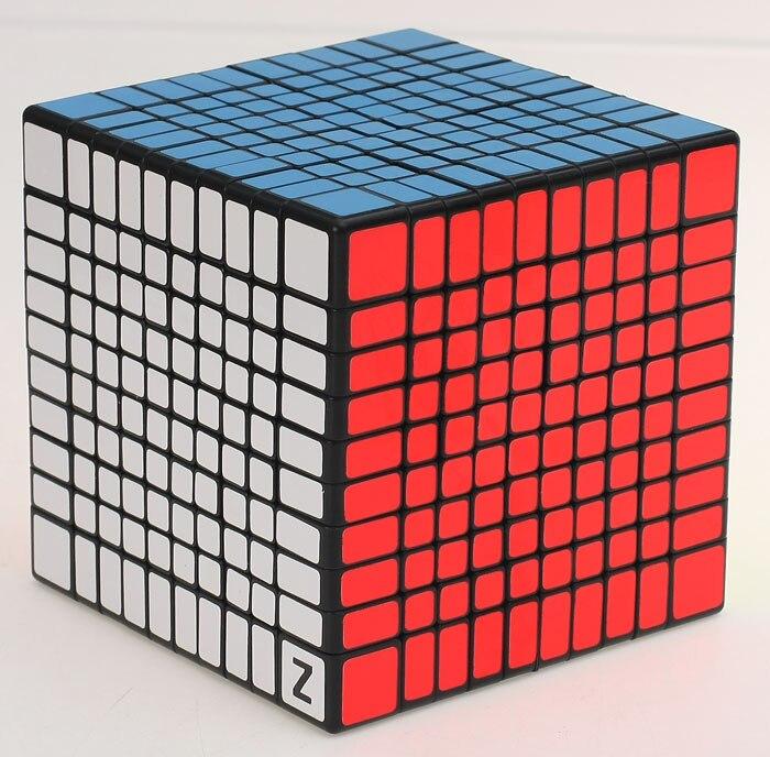 Shengshou 10x10x10 cube 10.2CM cube magique puzzle 10 couches 10x10 cube magico cubo cadeau jouets éducation jouets livraison directe