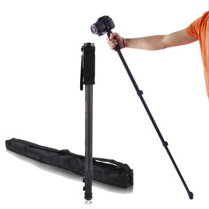 Image 1 - Fosoto WT1003 נייד מקצועי DSLR מצלמה נסיעות חדרגל Stand וידאו חדרגל 170cm 1/4 בורג עבור Canon Nikon Sony DV טלפון