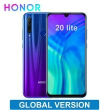 Globale Version Ehre 20 lite 6,21 zoll 4GB 128GB Smartphone Android 9,0 FM Gesicht Fingerprint Entsperren Handy