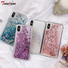 Fashion Glitter Liquid Silicone Case For Huawei Honor 9X Lite Pro 9A 9