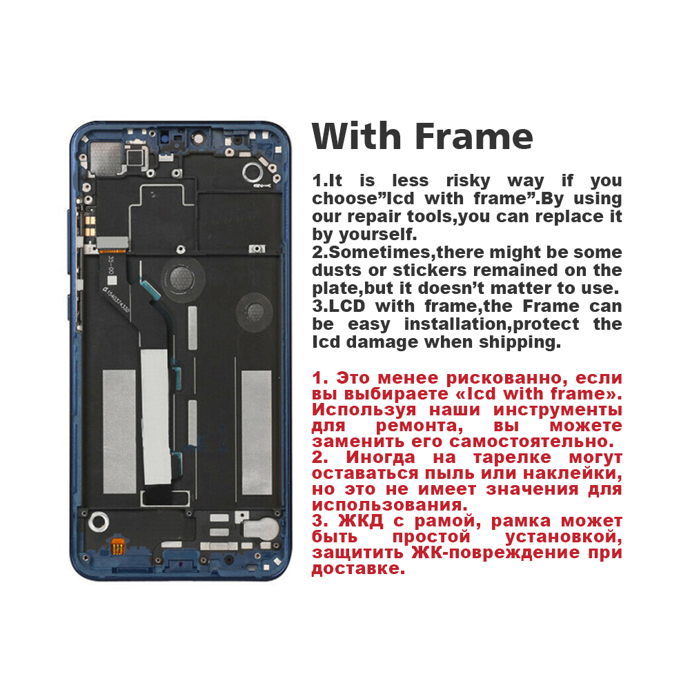 1520 720 Original For Xiaomi Redmi 7 LCD Display Touch Screen Digitizer Assembly For XIAOMI Redmi 7 Display Snapdragon 632 in Mobile Phone LCD Screens from Cellphones Telecommunications