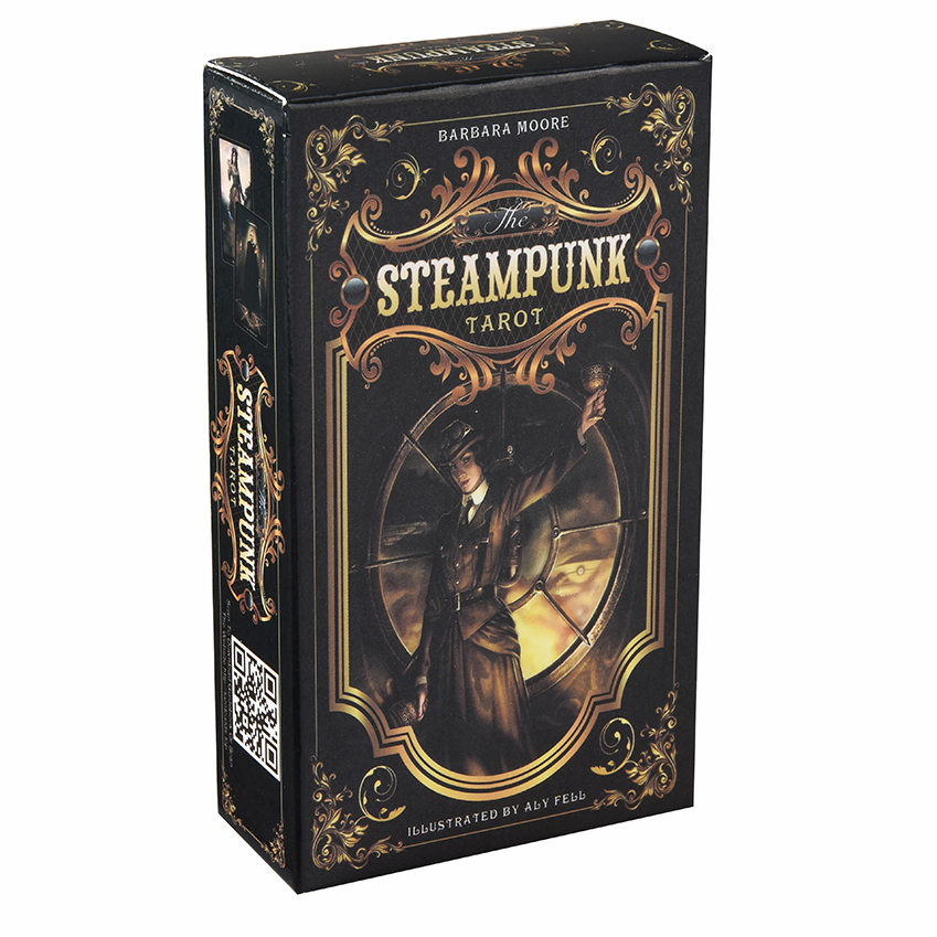 Steampunk Tarot Cards Game Box English Tarot Deck Table Card Board Games For Party Playing Tarot Cards Entertainment Family Game