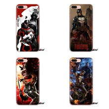 Para iPhone 5 XS Max XR X 4 4S 5S 5C SE 6 6S 7 8 Plus Samsung Galaxy j1 J3 J5 J7 A3 A5 Telefone Caso O Crânio Punisher Frank Castle(China)