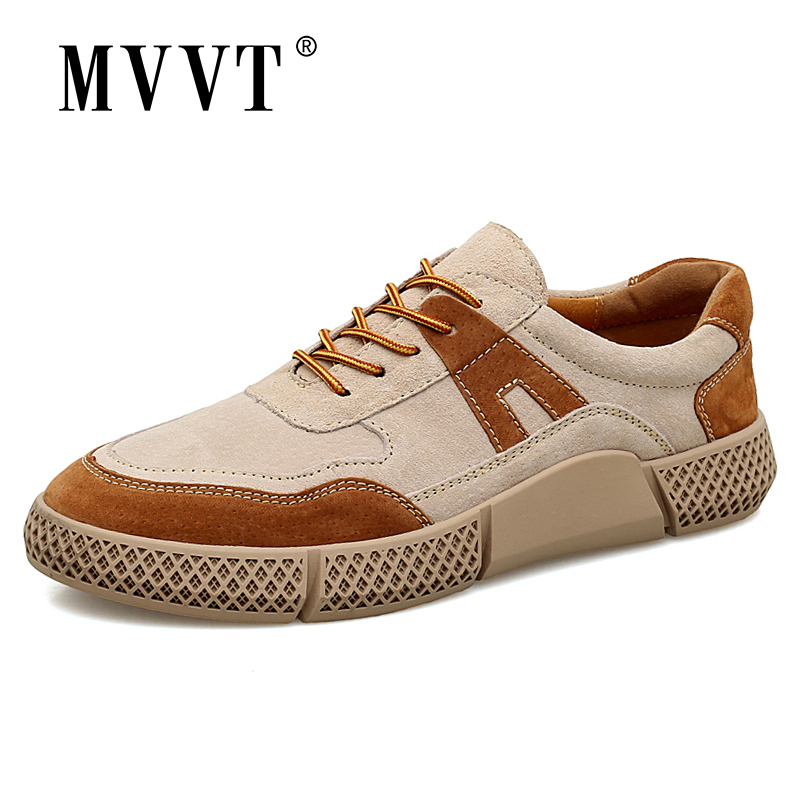 2020 New Breathable Men Sneakers Suede Leather Casual Shoes Men Comfortable Men Loafers Fashion Men Leather Shoes Plus Size