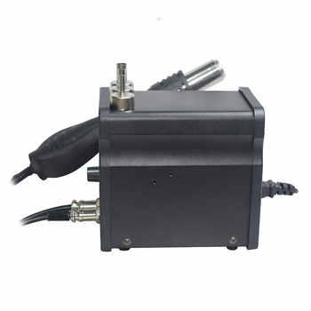 Eruntop 8586 8586 + 8586D + 2in1 Soldering Irons + Hot Air Gun ดีกว่า SMD Rework Station อัพเกรด 8586D