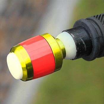 1 Pair LED Bicycle End Plug Turn Signal Lights Bike Handlebar End Cap Blinkers Safety Warning Light Riding Equipment