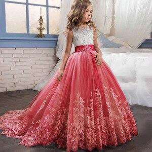 Image 3 - สาวเจ้าหญิงชุด4 TO14ปีสาวชุดแต่งงานสำหรับสาววันเกิดPartyเสื้อผ้าเด็กVestido