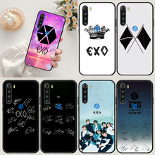 Чехол EXO kpop для телефона XIAOMI Redmi Note 5 7 8 T 9 6A 7A 8A 9S K 20 30 Pro, черный бампер, силиконовый Водонепроницаемый Мягкий чехол из ТПУ для сотового телефон...