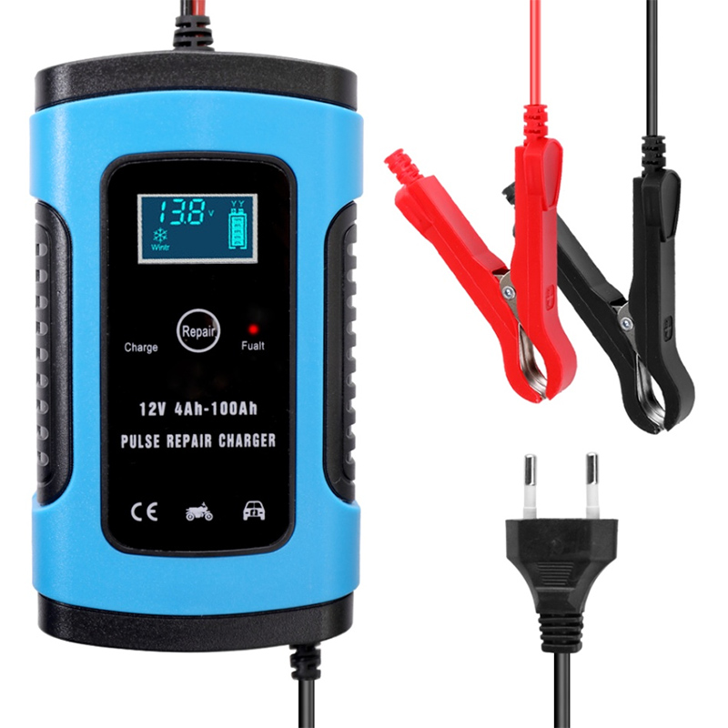 2019 Charger Car Battery Starter Jump Power Booster 12V Smart Auto Pulse Repair Charger CSL88
