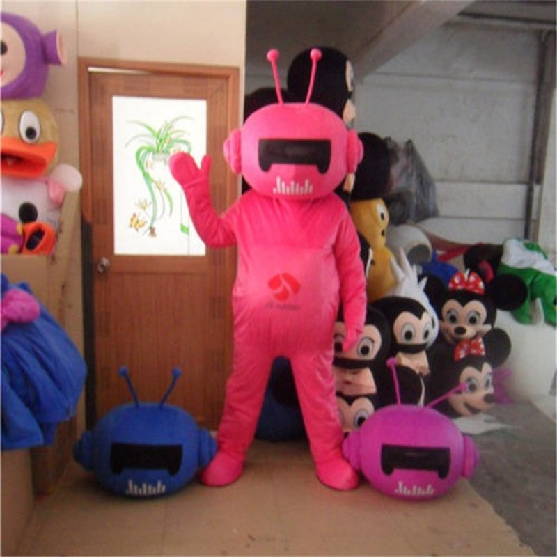 Publicité TH astronaute Robot mascotte Costume costumes robe adultes partie jeu nouveau fait à la main intéressant dessin animé personnage vêtements