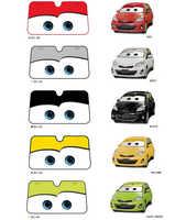 5 farbe Nette Cartoon Augen Auto Windschutzscheibe Sonnenschirm Auto Fenster Windschutz Abdeckung Sonnenschutz Auto-deckt Auto Solar Schutz