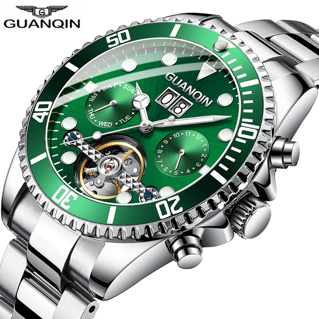 Guanqin automatic mechanical tourb