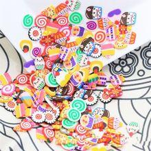 1500 шт. 1 см фрукты ломтики декор добавки для слизи наполнитель расходные материалы талисманы глина аксессуары авокадо для ногтей искусства слизи для